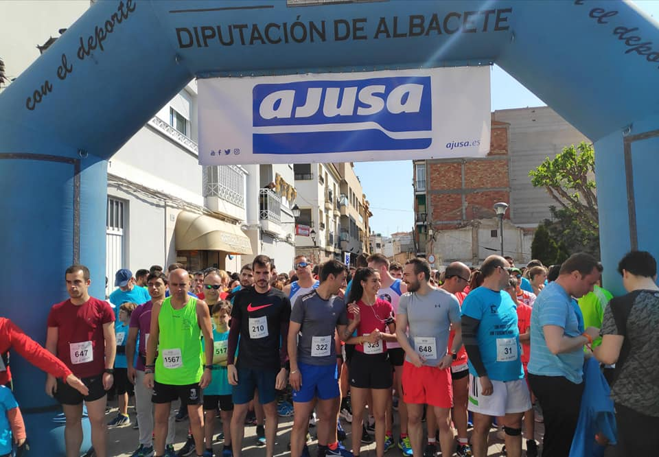 Carrera a beneficio de Afanion