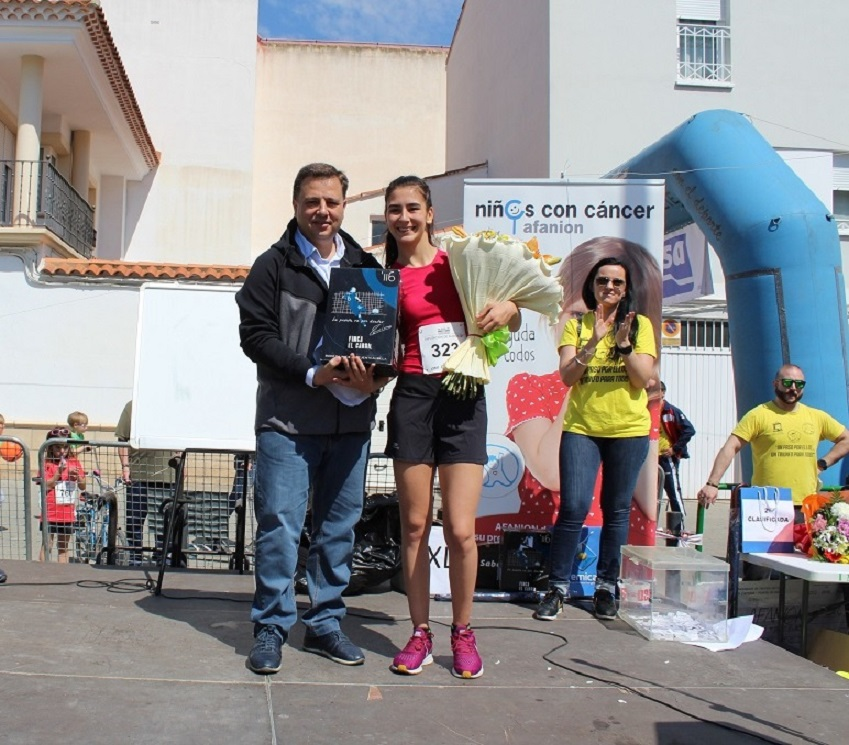 Carrera beneficio Afanion