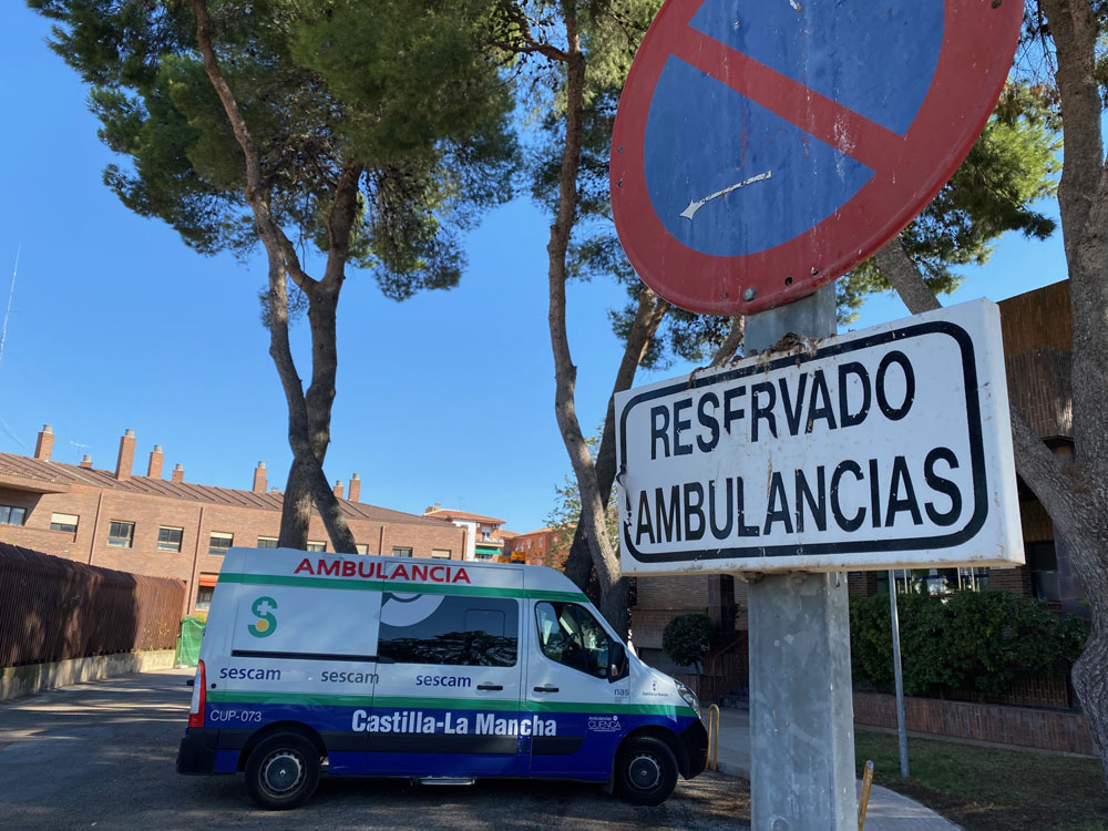 UGT  ambulancias Sescam